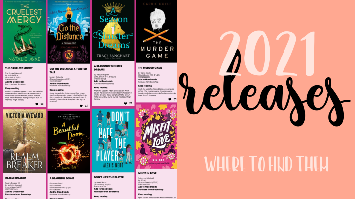2021 Releases and How to FindThem